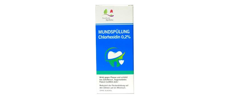 Chlorhexidin 0,2% Mundspülung in der Nordheide-Apotheke, Bad Salzuflen
