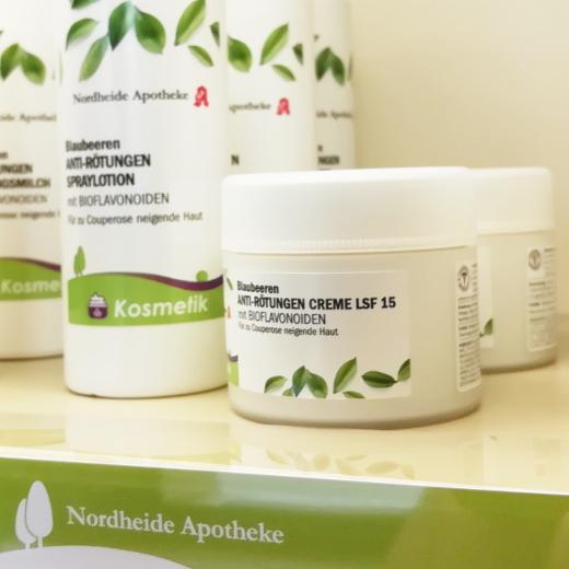 Produkte zur Augenpflege aus der Nordheide-Apotheke zwischen Bad Salzuflen und Lage