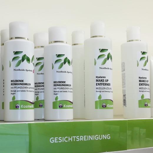 Produkte zur Gesichtspflege aus der Nordheide-Apotheke zwischen Bad Salzuflen und Lage