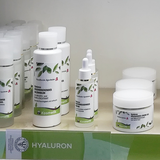 Produkte zur intensiven Pflege aus der Nordheide-Apotheke zwischen Bad Salzuflen und Lage
