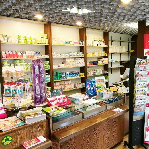 Verkaufsraum der Nordheide-Apotheke in Bad Salzuflen